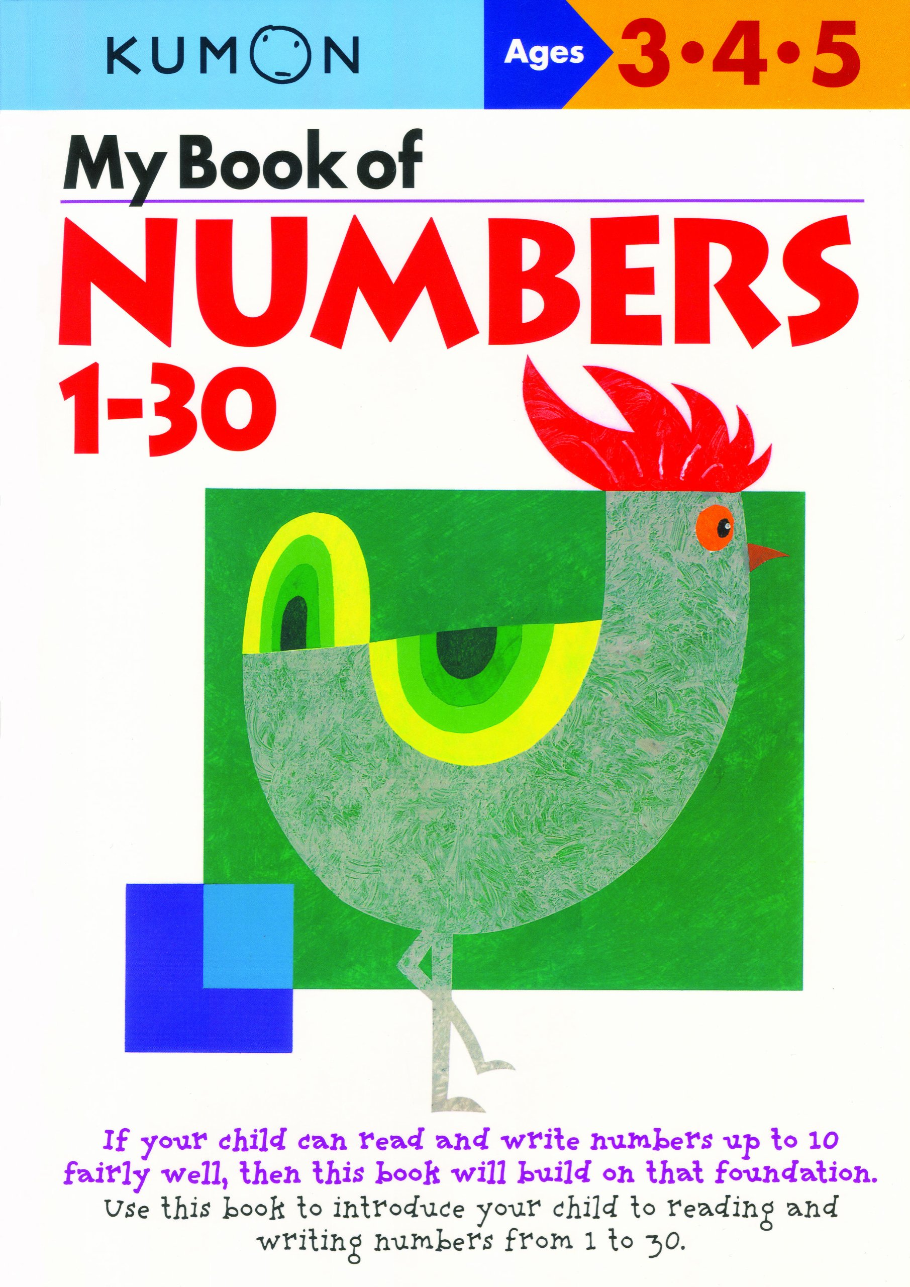 Amazon.com: My Book Of Numbers 1-30 (Kumon Workbooks) (9784774307039 ...