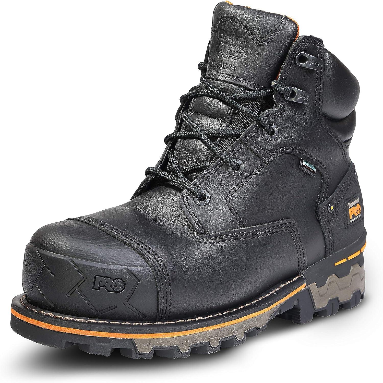 Timberland PRO Men's Boondock 6 Inch Composite Safety Toe Waterproof Work Boot