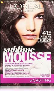 LOreal Paris Sublime Mousse Coloración Permanente en Espuma ...