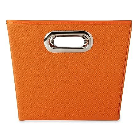 Michael Graves Design Storage Bin Orange Orangecom Amazoncouk