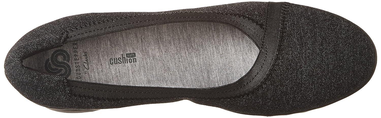 Clarks Frauen Caddell Caddell Caddell Dash Geschlossener Zeh Leder Pumps mit Keilabsatz schwarz Noir 770567