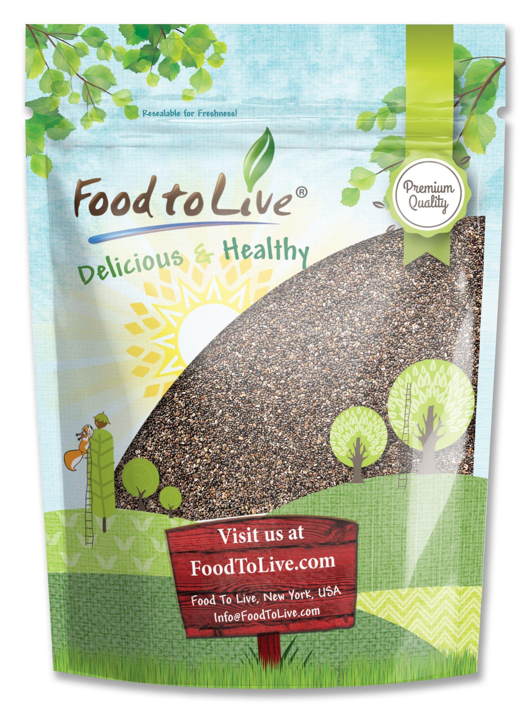 Food to Live Chia Seeds (1 Pound)