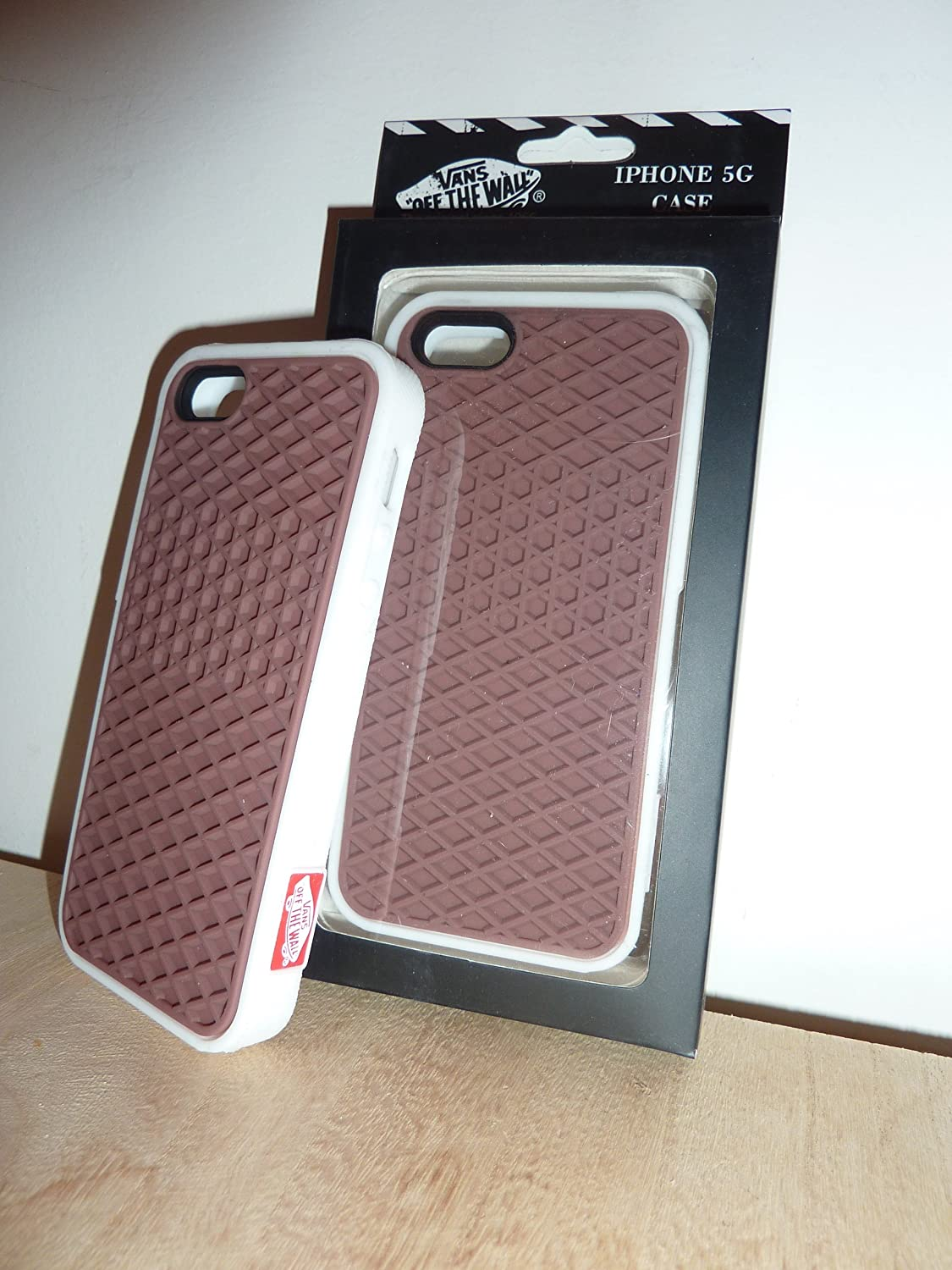 new style 15cb2 4341a Vans Iphone 5 waffle sole grip, case and cover in packaging