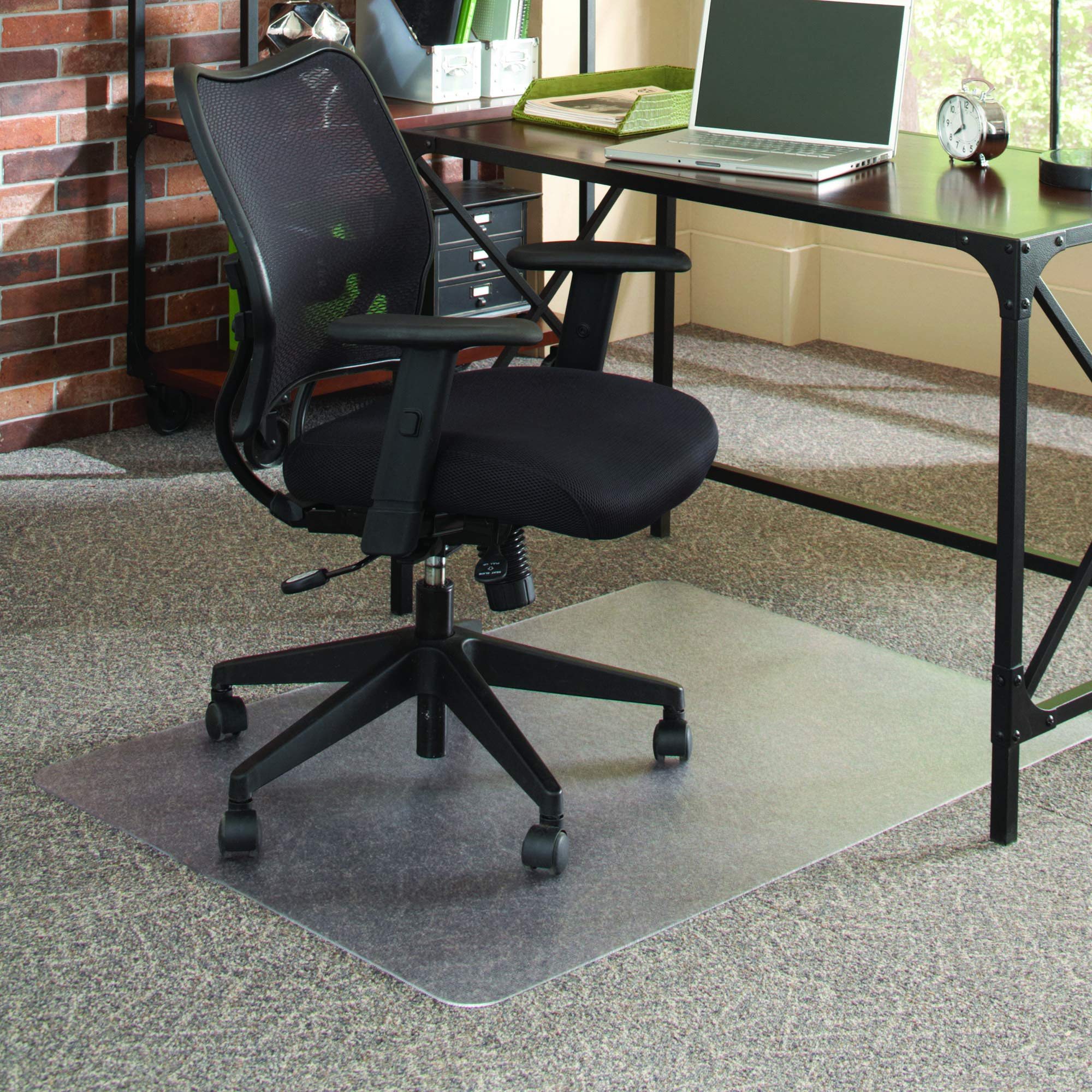 ES Robbins 121409 FloorMate Chair Mat Multi Surface, 36''x48'', Clear