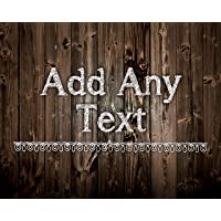 """PERSONALISED Shabby Chic 8x10"""" Metal Sign Add Any Text Gift Idea Vintage 15a"""