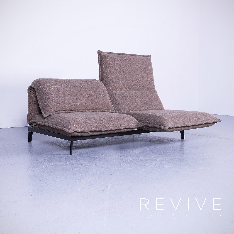 Amazon.com: Rolf Benz Nova Designer Stoff Sofa Braun Neuwertig Zweisitzer  Couch Funktion #5551: Kitchen U0026 Dining