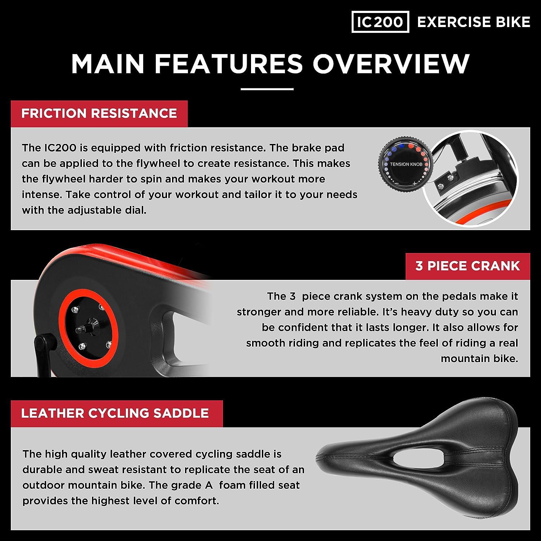 NEW JLL Indoor 10kg Flywheel Direct Chain Driven Exercise Bike ...