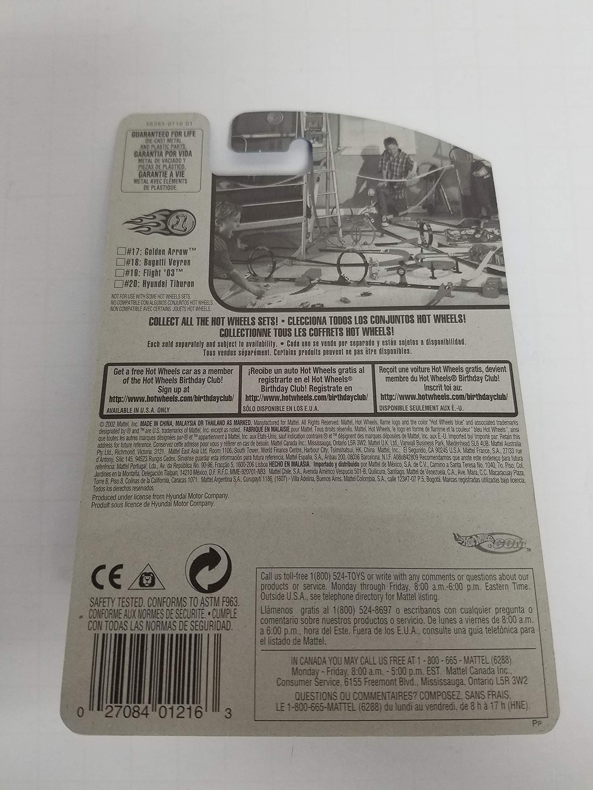 Hyundai Tiburon 2003 First Editions 20 of 42 Hot Wheels NO. 032