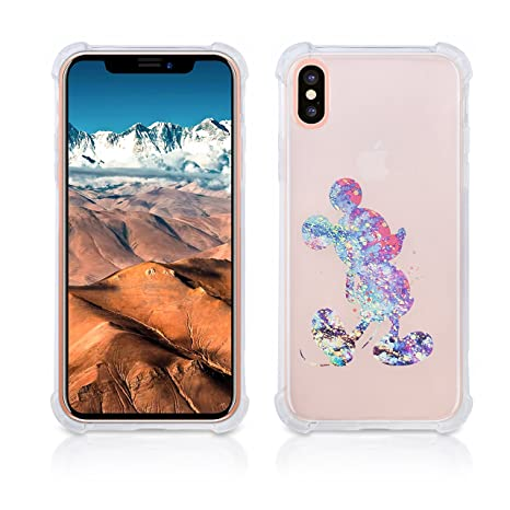 Amazon.com: Transparente iPhone X funda transparente ...