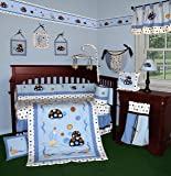 SISI Baby Bedding - Turtle Parade 13 PCS Crib Bedding