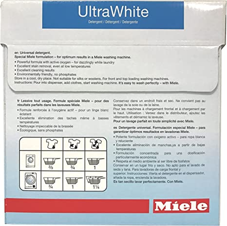 Amazon.com: Miele Care Collection ultrawhite detergente ...