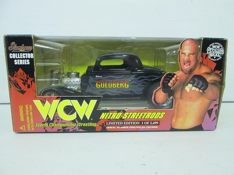 Racing Champions WCW Nitro-Streetrods Goldberg 1 24 (schwarz)