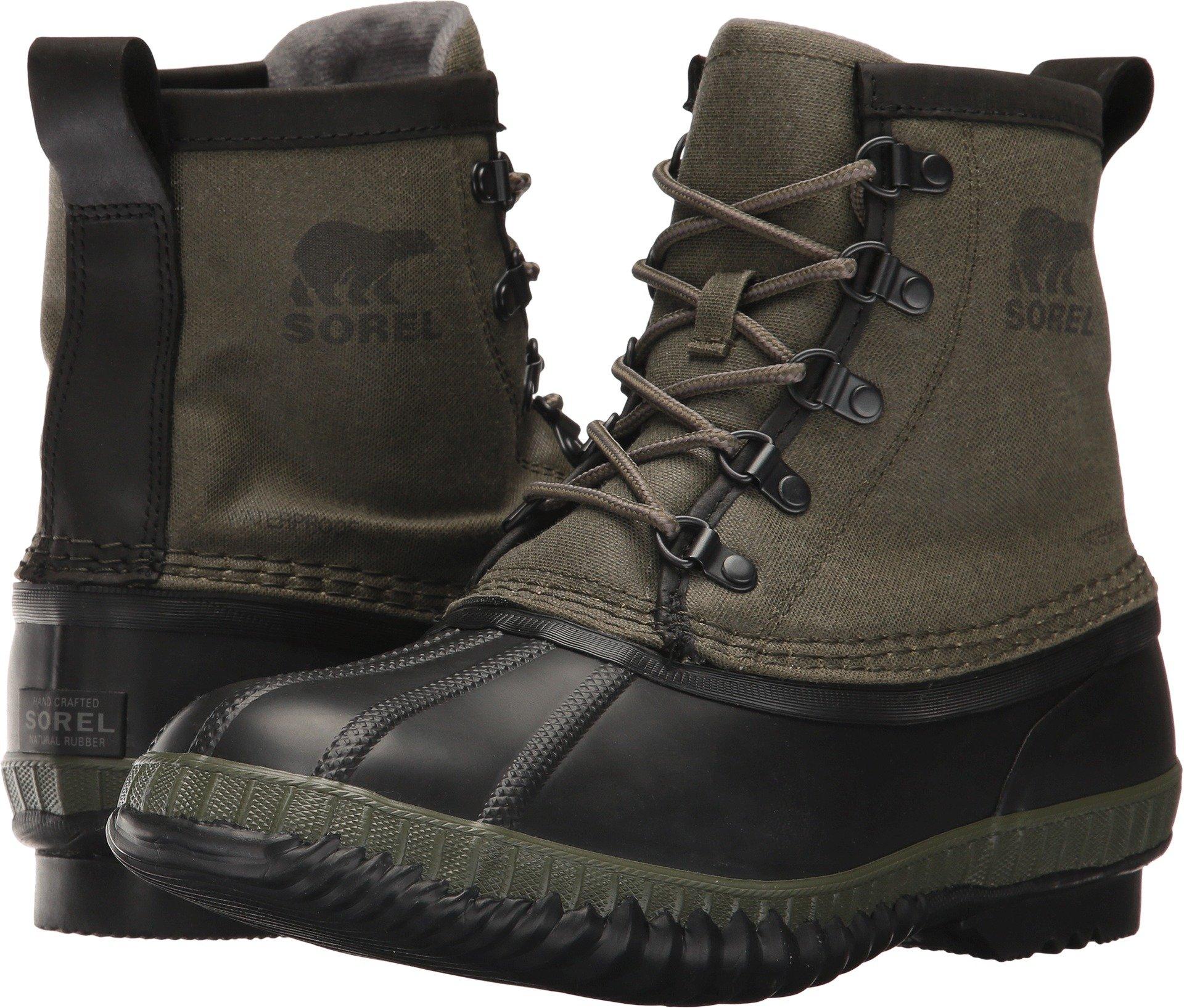 SOREL - Men's Cheyanne Ii Short CVS Shell Boot, Size: 10 D(M) US, Color: Nori/Quarry
