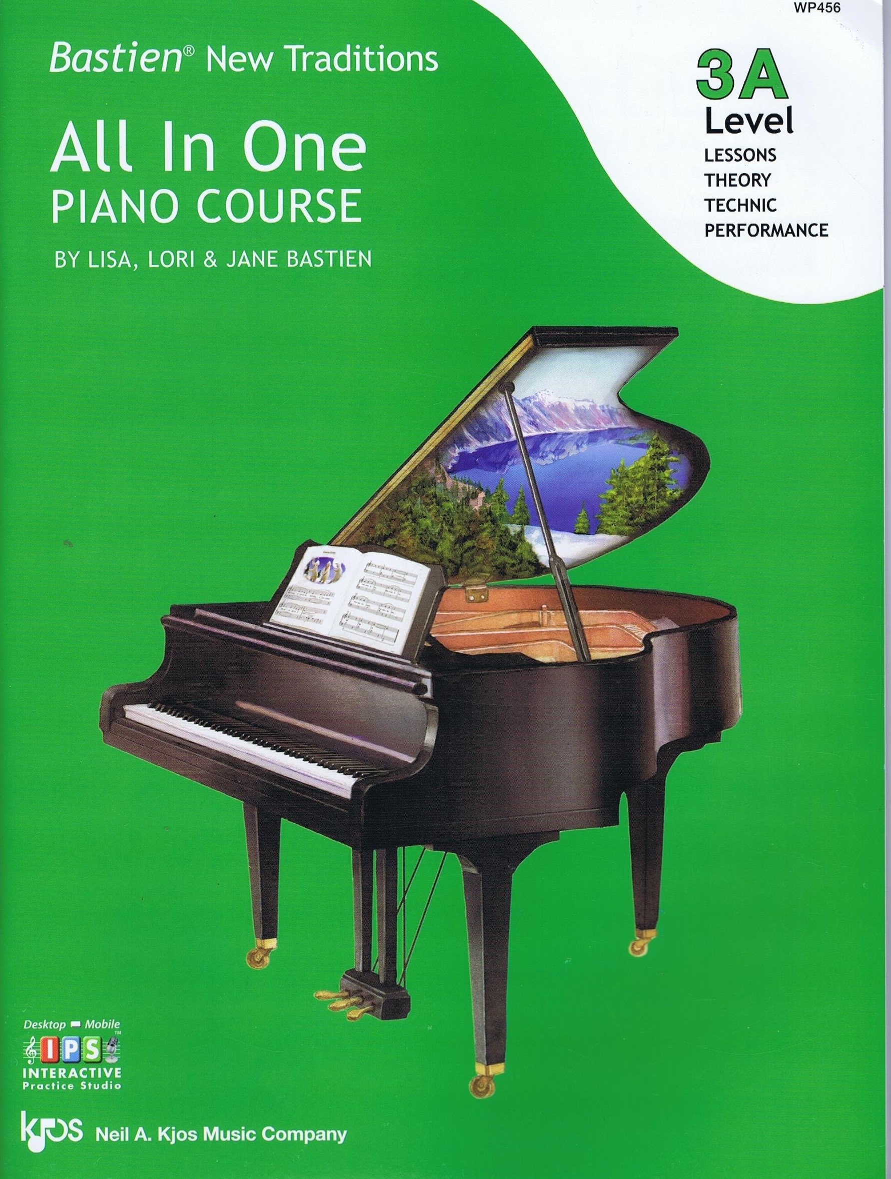 Download WP456 - Bastien New Traditions - All in One Piano Course - Level 3A ebook