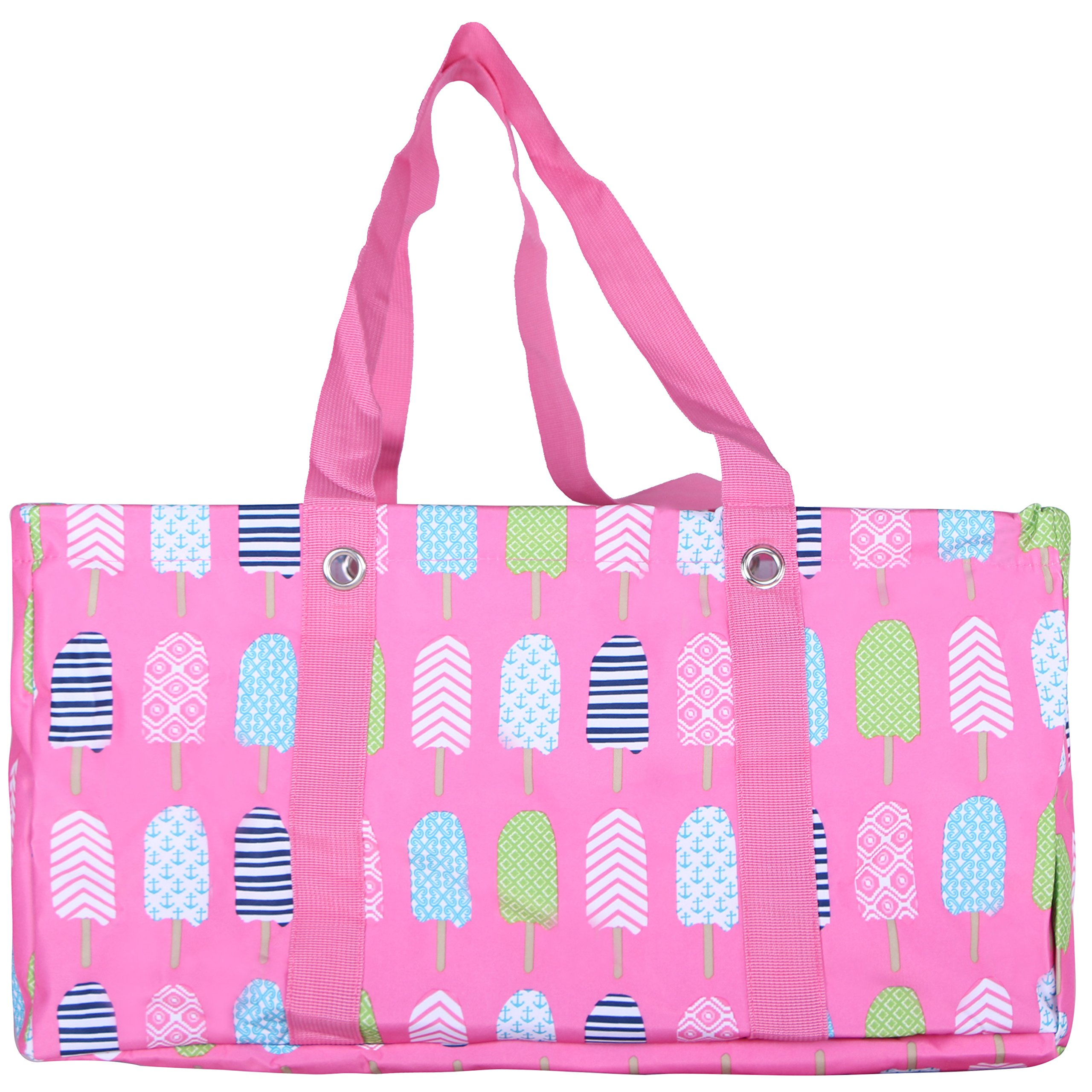Wireframe All Purpose Large Utility Bag (Pink Popsicles)