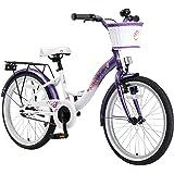 BIKESTAR® Premium Vélo pour enfants à partir d'env. 6 ★ Edition Classic 20 ★ Couleur Lilas & Blanc