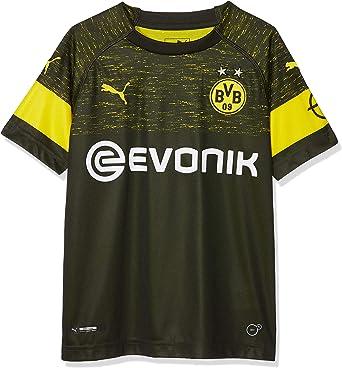 Amazon Com Puma 2018 2019 Borussia Dortmund Away Shirt Kids Clothing