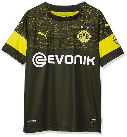5a1a354ca69 Amazon.com   PUMA 2018-2019 Borussia Dortmund Away Shirt (Kids)   Sports    Outdoors