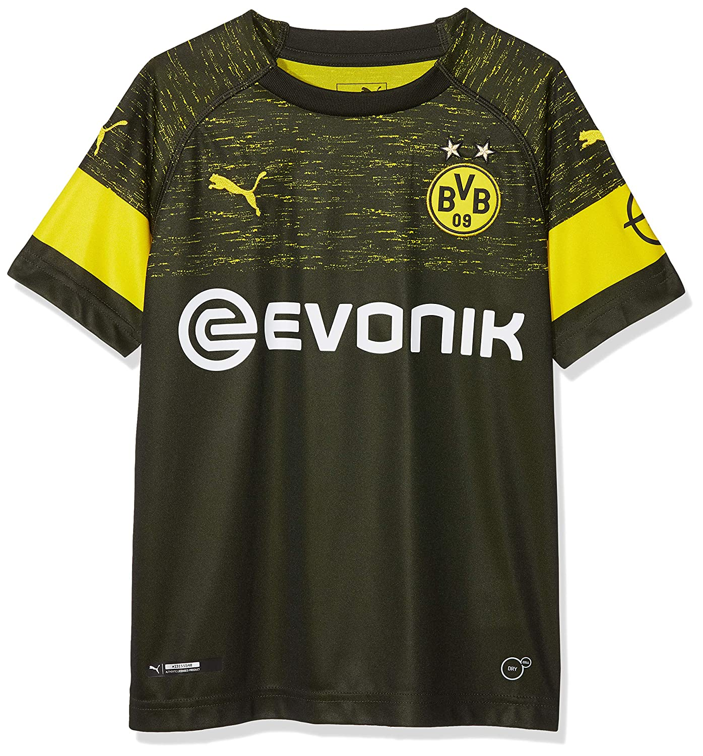 Puma Kinder BVB Away Shirt Replica Jr Evonik with Opel Logo Trikot
