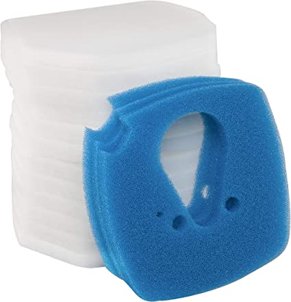 8 Pack Set Blue//White Filter Pads for Eheim Professionel Pro 3e