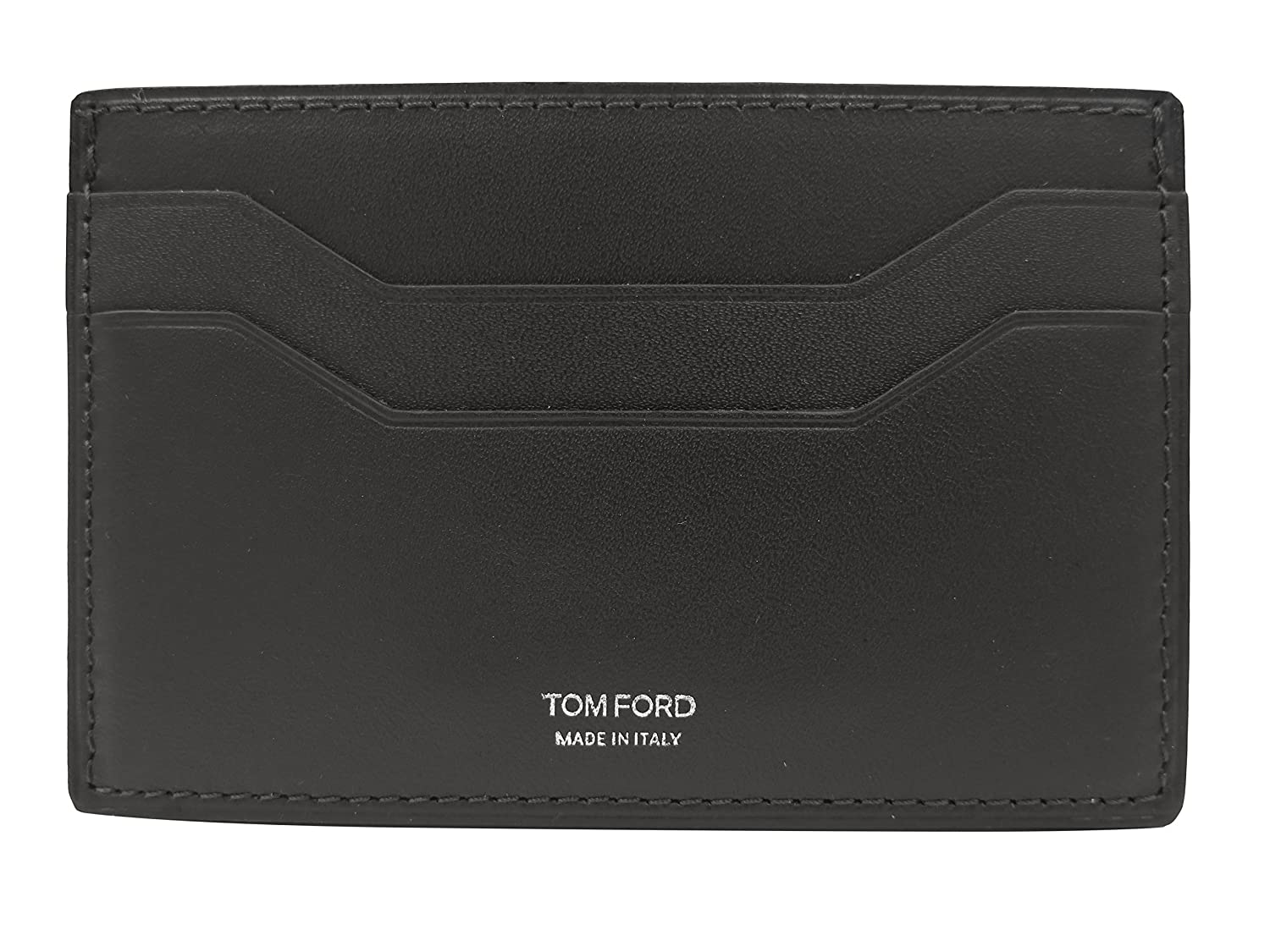 Tom Ford GrayLeather Card Case