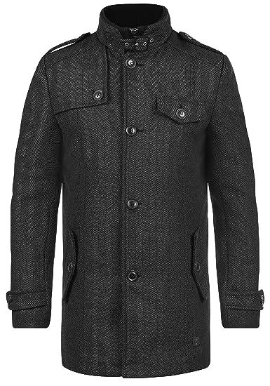 INDICODE Brandan - Abrigo Chaqueta para Hombre: Amazon.es: Ropa y accesorios