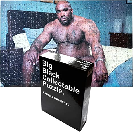 Big Black Collectable Puzzle - Gag Gifts,500 Piece Collectable
