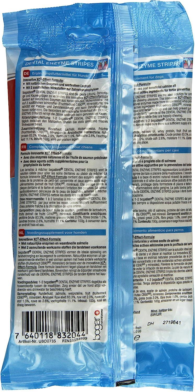 Bogadent dentali Stripes Enzimatici Mini per Cani 100/g