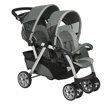 CHICCO Hermanos 06079307210000 Sport carro Together, graphite: Amazon.es: Bebé