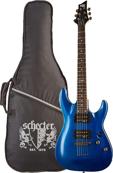 SGR by Schecter C-1 3804 - Guitarra eléctrica, color electric blue ...