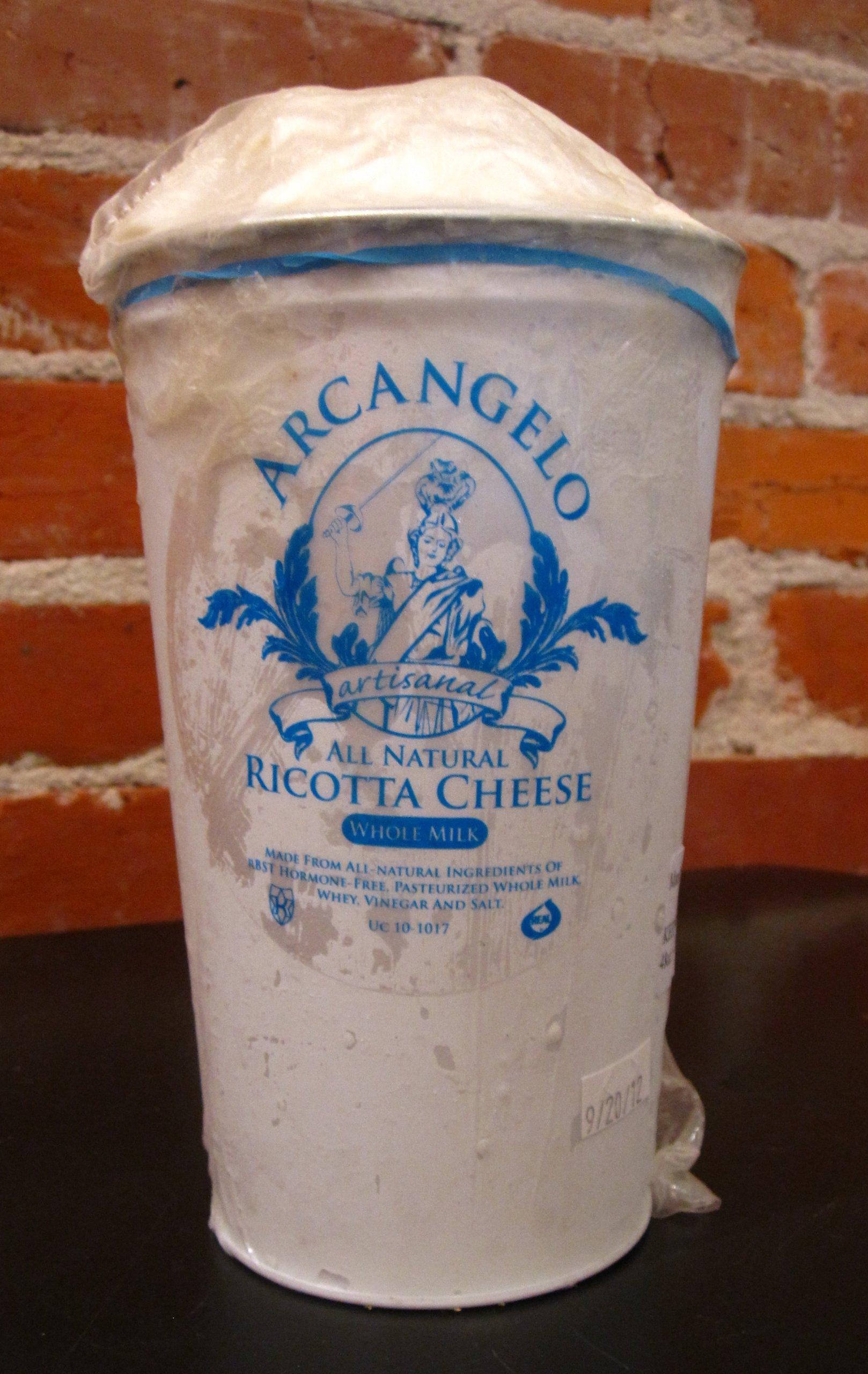 Ricotta, Fresh Hand Dipped - 3 Lb