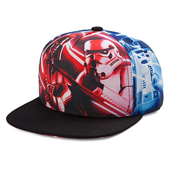 pretty nice f9ccd f44ae Image Unavailable. Image not available for. Color  Star Wars Sublimated  Kids Snapback Cap