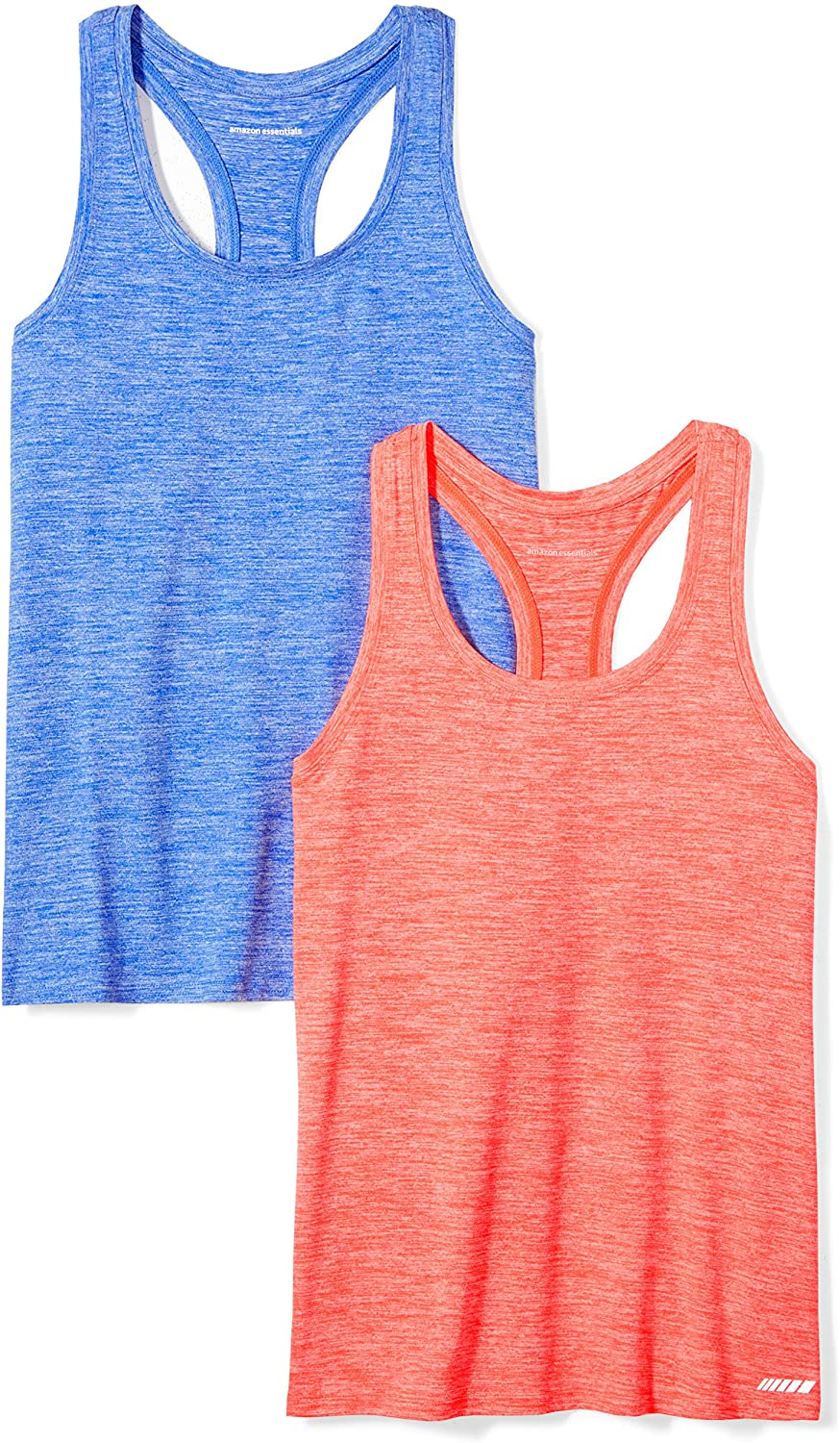 Essentials 2-Pack Tech Stretch Racerback Tank Top Donna