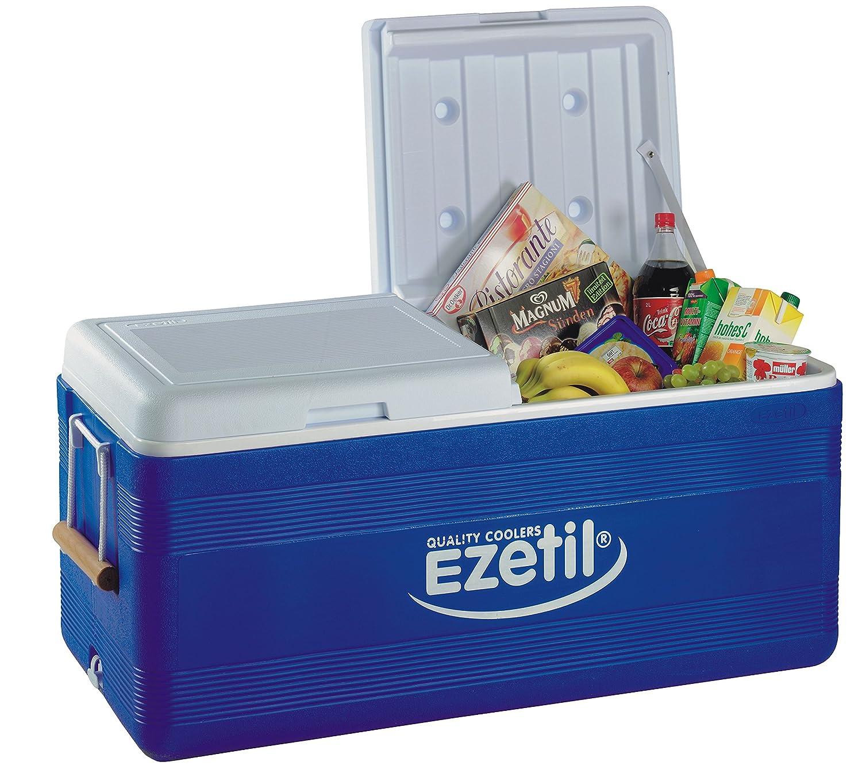 Blau//Wei/ß EZetil Passive K/ühlbox 3Tage EIS