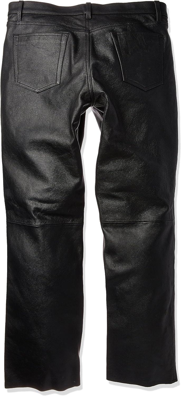 First Manufacturing Mens 5-Pocket Modem Fit Pants Black, Size 40