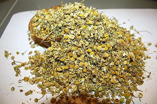 Organic Bio Herbs-Organic Dried Chamomile German Flowers Recuitita Matricaria 4 Oz.