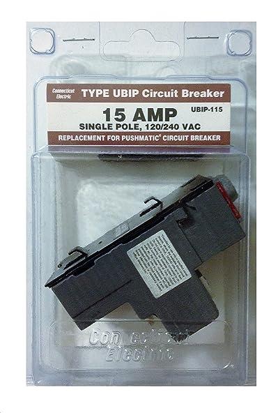 View-Pak Div. Of Tes UBIP115 15a 1-Pole Circuit Breaker
