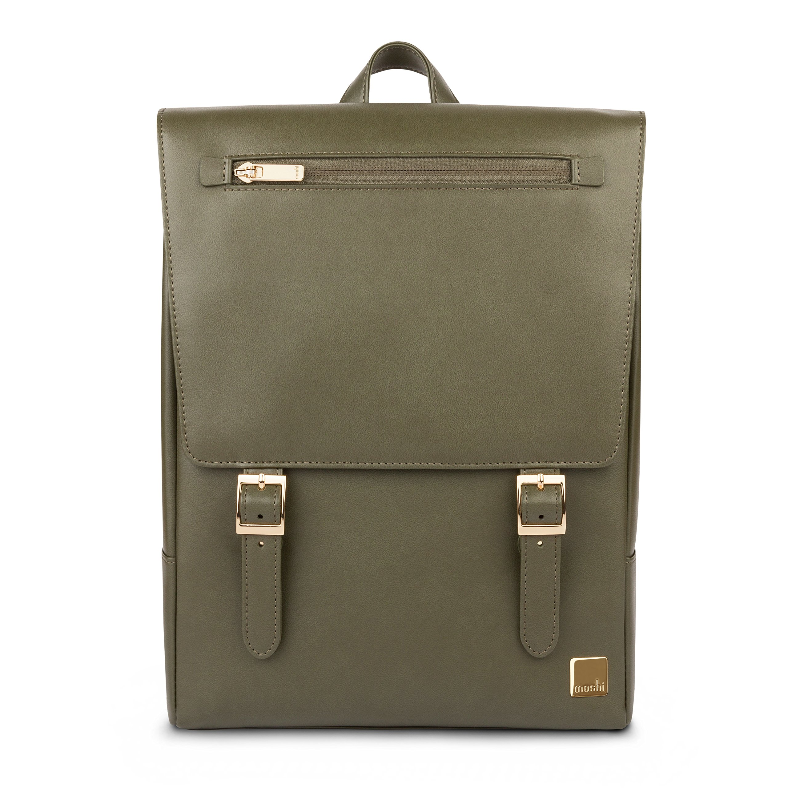 Moshi Helios Mini designer backpack (Olive Green) by Moshi
