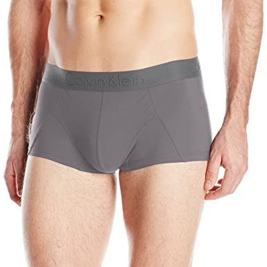 5b3062ec59bb Amazon.com: Calvin Klein Men's Micro Low Rise Trunk, Grey Sky, X ...