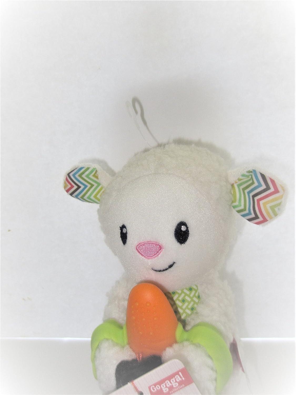 Infantino Good Bites Spring Pal Baby Teether With Lamb Stuffed Animal New