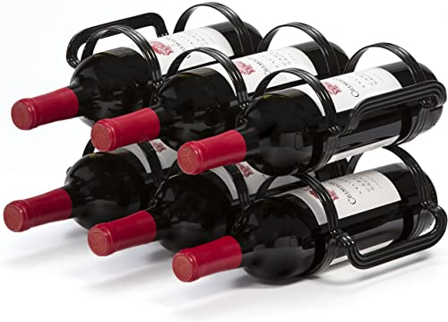Mango-Steam-6-Bottle-Counter-top-Wine-Rack