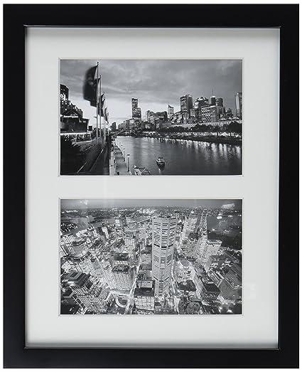 dorado State Art, 8 x 10 negro marco de madera para collage de fotos ...