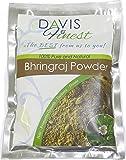 Davis Finest Bhringraj Powder - Natural Hair Loss Growth Treatment Product Men Women - Shining Black Hair Dye Colour Enhancer (100g)