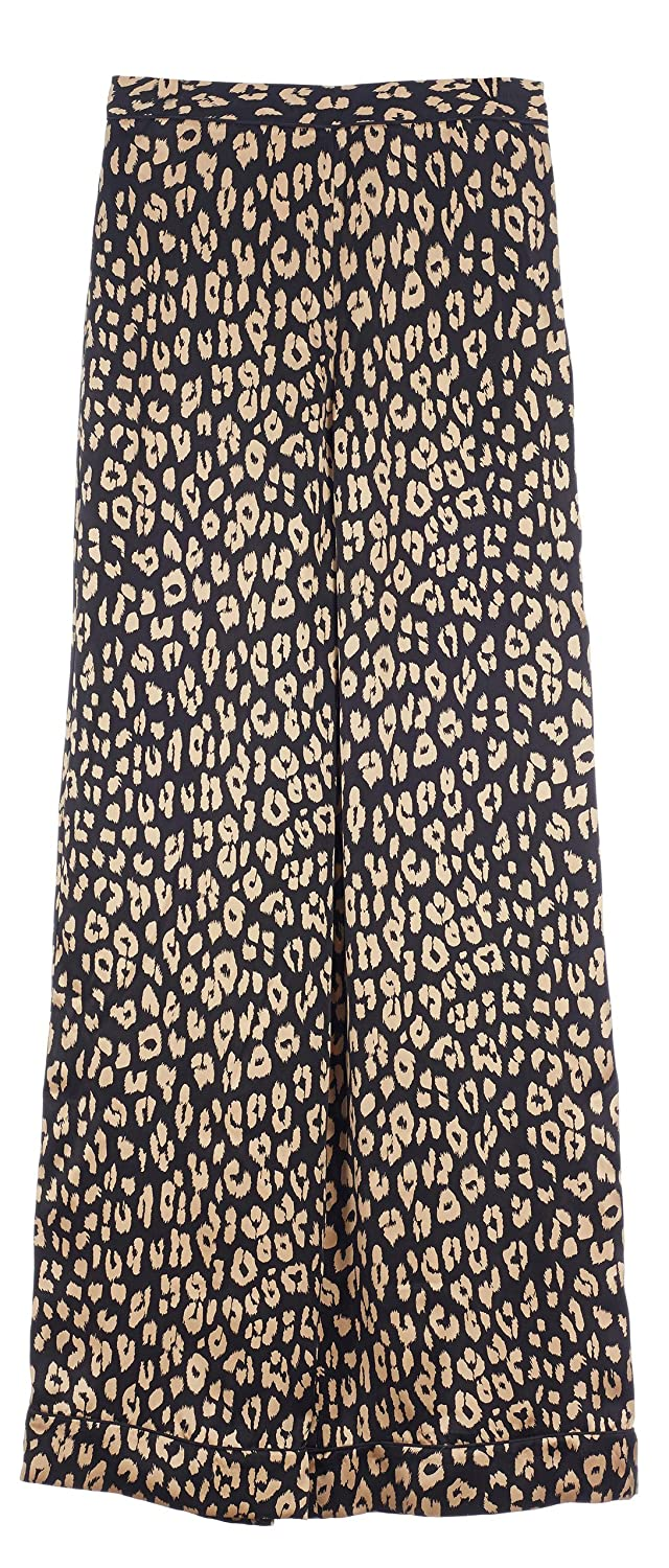 Equipment Women's Avery Pajama Pants in True Black