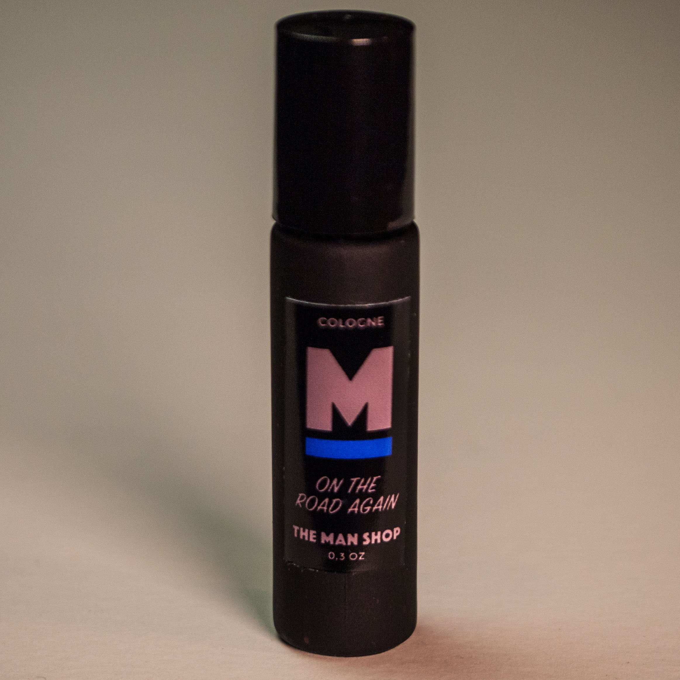 On The Road Again Men's Rollerball Cologne (0.3 oz) The Man Shop