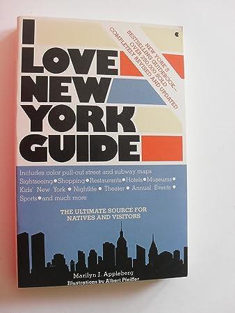 Amazon. Com: i love new york guide by marilyn j. Appleberg.