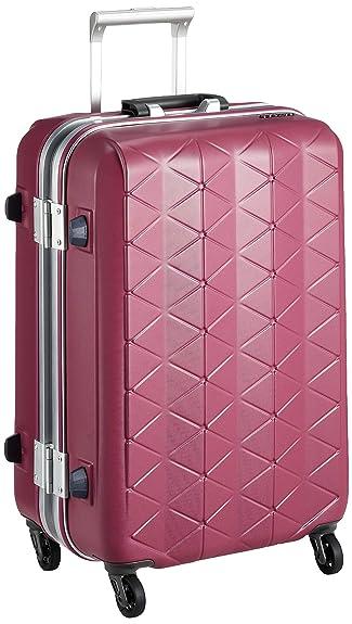 dae1718d64 Amazon | [サンコー] スーツケース フレーム SUPER LIGHTS MG-C 軽量 消音/静音キャスター MGC1-57 56L 57  cm 3.5kg Eバーガンディ | スーツケース