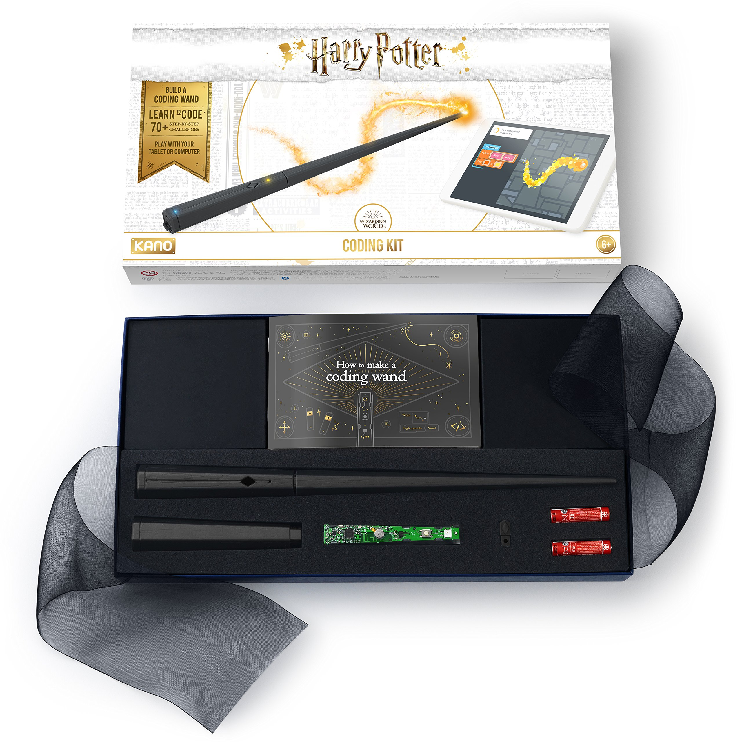 Kano Harry Potter Coding Kit – Build a Wand. Learn To Code. Make Magic. by Kano (Image #5)