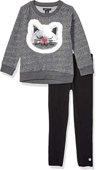 Limited Too Girls Toddler 2 Piece Grindle French Terry Top and Legging Set