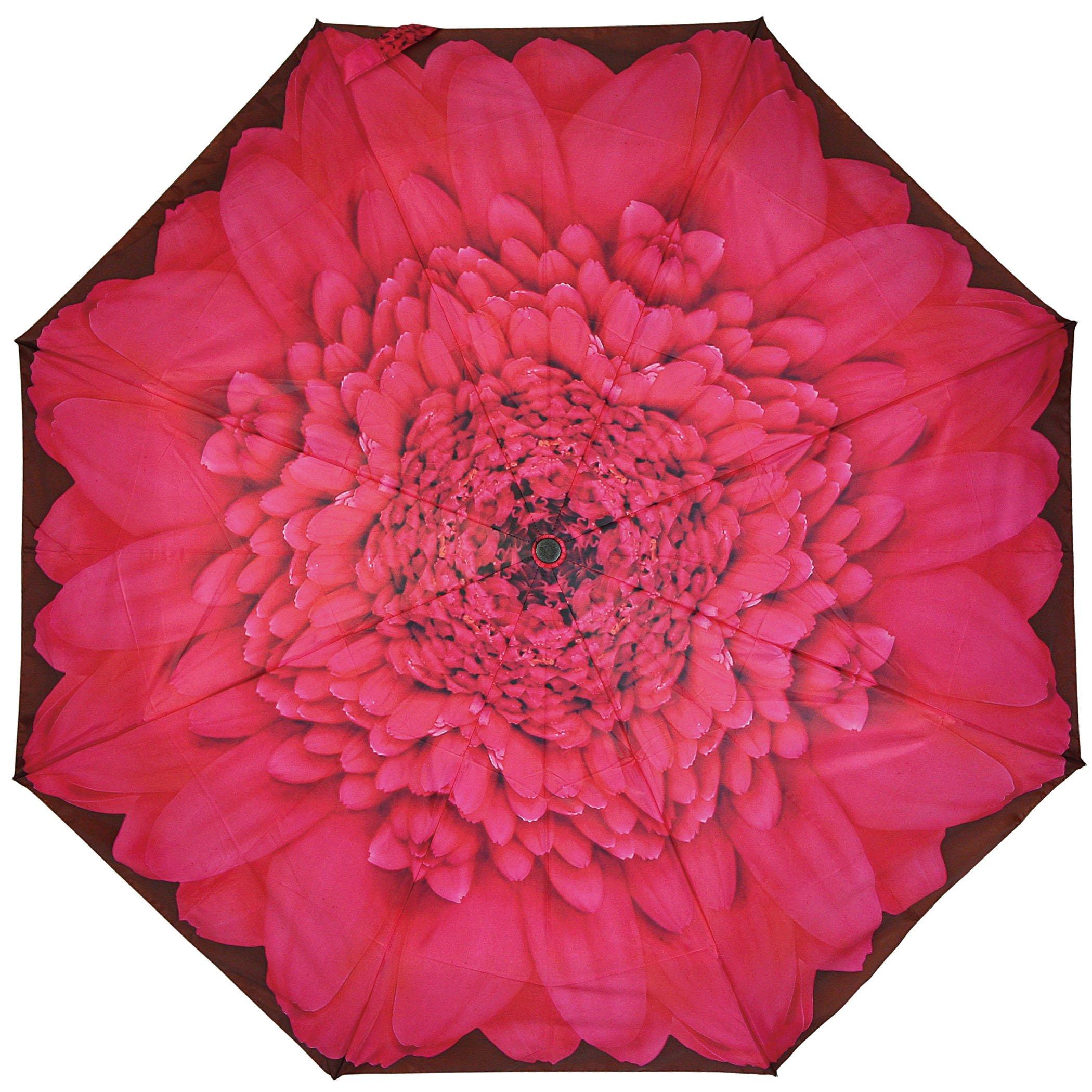 PealRa Pink Gerbera Super Mini Umbrella